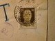 Italy.1944.Censored.Postage Due,Segnatasse.30c.stamp Cut Out Of Postcard ? .Napoli - Storia Postale