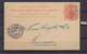 GREAT BRITAIN 1898, LONDON 25. 1. 1898 TO GENEVE 27. 1. 1898, ONE PENNY, , See Scans - Interi Postali