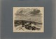 14 - VILLERVILLE - Gravure Issue D'une Revue De 1877 Et Collée Sur Feuille A4 - Vieux Papiers