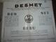 Dépliant - Postes  Desmet - Poste Radio -  P.Blin  Electricien à Wailly -  (Somme) - Pubblicitari