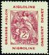 619 N° 108 Sur Porte-timbre Aiglon Qualité:** Cote:..... - Errors & Oddities