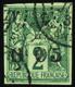 3440 N° 1 0f05 Sur 2c Vert TB Qualité:OBL Cote:740 - France (former Colonies & Protectorates)