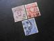 D.R.Mi 32/33a/34a  - 1875/79 - Mi 10,00 € - Used Stamps