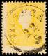 """10274 2 Soldi Gelb, Type II, Farbfrisches Kabinettstück Mit Zentrischem K1 """"VICENZA"""", Rücks. Briefpapierreste, Fotokurzb - Lombardo-Vénétie"""