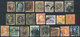 UNITED STATES: Lot Of Old Stamps, Many Scarce And Of High Catalog Value, Most With - United States