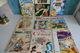LOT DE 9 BD ANCIENNES ASTERIX OBELIX. DARGAUD. UDERZO. GOSCINNY. ENSEMBLE BON ETAT. Asterix En Corse, Le Devin.......... - Bücher, Zeitschriften, Comics