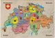 Switzerland/Suisse/Schweiz/Svizzera - Map/Carte/Kaart - Landkaarten