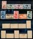 11279 COLONIE - EGEO - 1934 - Calcio Soprastampati (75/79+A34/A37) - Serie Completa Di 9 Valori - Nuovi Con Gomma (920) - Stamps