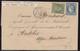 Paris, étoile 1 Place De La Bourse Sur LSC Du 11 Septembre 1871 - Marcophilie (Lettres)
