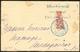 LETTRE Coupés. No 78B, Sur Petite Enveloppe De Diego 21 03 04 Pour Majunga. - TB - Madagascar (1889-1960)