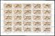 ** No 819, Feuille Complète De 25 Ex Cd 17.02.04. - TB (Le Plus Rare Des Timbres Modernes) - St.Pierre & Miquelon