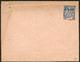 """LETTRE Surchargé """"ULTRAMAR"""". Entier Postal, Enveloppe 25c Bleu (N°75), (documentation Jointe) Neuve. - TB. - R - St.Pierre & Miquelon"""