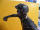 Trophée De Pétanque, Sculpture De 22 Cm Ht -Trophy Bowls, Sculpture 22 Cm Ht (restauré) - Pétanque