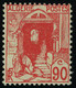Neuf Avec Charnière N° 137A, 90c Rouge Quasi ** T.B. Signé Brun - Unclassified