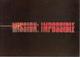 Belgium, Mission Impossible, 4 Cards, NEW (X06573) - Cinéma