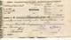 """Autriche Austria Österreich Ticket QUITTUNG """" AZIENDA """" Austria - France Society 1885 # 2 - Autriche"""