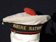 RARE BACHI MARINE NATIONALE  - FABRICATION AMERICAINE --  Matriculé TOULON 1952 - Copricapi