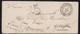 Corps Expéditionnaire D'Italie Du 9 Décembre 1850 Taxé Pour Réexpédition - Indice 19 - Postmark Collection (Covers)