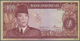 Indonesia / Indonesien: 100 Rupiah 1960, P.86a, Printer Pertjetakan Kebajoran, Lightly Stained Paper - Indonesia