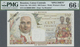 Réunion: 100 Francs ND(1947) Specimen P. 45s, PMG Graded 66 GEM UNC EPQ. - Reunion