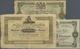 Sweden / Schweden: Set With 3 Banknotes 32 Skilling 1836, 1 Riksdaler 1864 (in F With Annotations, S - Sweden