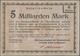 Deutschland - Notgeld - Württemberg: Tuttlingen, Aktiengesellschaft Für Feinmechanik Vormals Jetter - [11] Local Banknote Issues