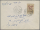 Br Saudi-Arabien - Hedschas: 1925. Envelope Addressed To Jeddah Bearing Hejaz SG 101, 3pi Brown Tied By - Arabia Saudita