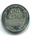 1943 USA 1c 'Steel' Wheat Penny Coin - 1909-1958: Lincoln, Wheat Ears Reverse