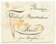 50 1832 Rare Cachet SUISSE PAR BELFORT En Rouge + LB/4K + BASEL Sur Lettre Avec Texte Pour BENFELD. TB. - France