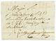 """61 1807 N°67 GRANDE ARMEE Rouge Sur Lettre Avec Texte Daté """"MARIENWERDER"""" Pour STRASBOURG. TB. - Unclassified"""
