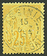 "513 ""ASSINIE SENEGAL"" : COLONIES GENERALES 25c Obl. ASSINIE SENEGAL. Trés Rare. Superbe. - Elfenbeinküste (1892-1944)"