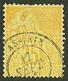514 PRECURSEUR : COLONIES GENERALES 25c Obl. ASSINIE. TB. - Ivory Coast (1892-1944)