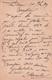 Carte Lettre  Dieuze Allemande 1879 Pour V Toussaint Poelier Fumiste Lunéville Tampon Dieuze - 1800 – 1899