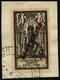 Oblit. N°133a 3c Brun Et Noir, Surcharge Renversée - TB - Inde (1892-1954)