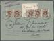 GA/Br/Brfst Belgien: 1911 - 1955, Gute Und Spannende Zusammenstellung Von über 170 Belegen Meist Frankierte Brie - Belgio