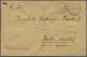 Br Zeppelinpost Deutschland: 1916, Rumänien, LUFTSCHIFF SZENTANDRAS Bei TEMESVAR SÜDUNG, Violetter Zier - Posta Aerea