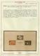 ** Kroatien: 1945, Sturmdivisionsblock, Echt Und Geprüft Raybaudi, Postfrisch Mit Kleinen Einschränkung - Croatie