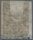 "O Türkei - Portomarken: 1863, Postage Due 5pi Black On Brick Left Margin Showing Variety ""missing Ink - Postage Due"