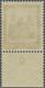 ** Deutsches Reich - Weimar: 1930, 50 Pfg. Nothilfe , Postfrisches Unterrandstück Mit Spiegelverkehrter - Unused Stamps