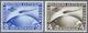 ** Deutsches Reich - 3. Reich: 1930, Flugpostmarken: 1. Südamerikafahrt Des LZ Zeppelin, Zwei Werte 2 M - Allemagne
