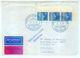 Nr. 289 MEF Randdreierstreifen Schiffspostbrief Nach Swaziland Dreierstreifen - Lettres & Documents