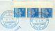 Nr. 289 MEF Randdreierstreifen Schiffspostbrief Nach Swaziland Dreierstreifen - Briefe U. Dokumente