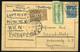 GERMANY 1923. Altenburg, Inflation Airmail Postcard To Szombathely , Hungary - Duitsland