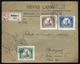 89957 BUDAPEST 1925. Jókai Sor, Helyi Ajánlott Levélen  /  1925 Jókai Line Local Reg. Letter - Used Stamps