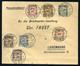 89963 BUDAPEST 1915. Dekoratív, Levél Hadi Segély Bélyegekkel Luxemburgba Küldve. Ritka Destináció!  /  1915 Decorative  - Hungary