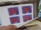 TRES BEAU VRAC EN BLOCS DE 4 ! NEUFS-OBLITERES ! - Briefmarken