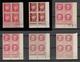 90 Coins Datés Neufs** Cote = 634.35€ Tous Scanés - Dated Corners
