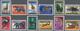 """* Katanga: 1960. Complete Definitives Set (12 Values) With INVERTED """"KATANGA"""" OVERPRINT, Unused. - Katanga"""
