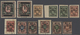 **/*/TO Russland - Post Der Bürgerkriegsgebiete: Nikolajewsk / Amur / Priamur: 1921. Virtually Complete Set - 1917-1923 Republiek & Sovjetrepubliek