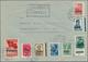 Br Dt. Besetzung II WK - Litauen: 1941, Vier Belege Dabei Satzbrief Bis Zur 80 K (Foto-Attest Krischke) - Occupation 1938-45